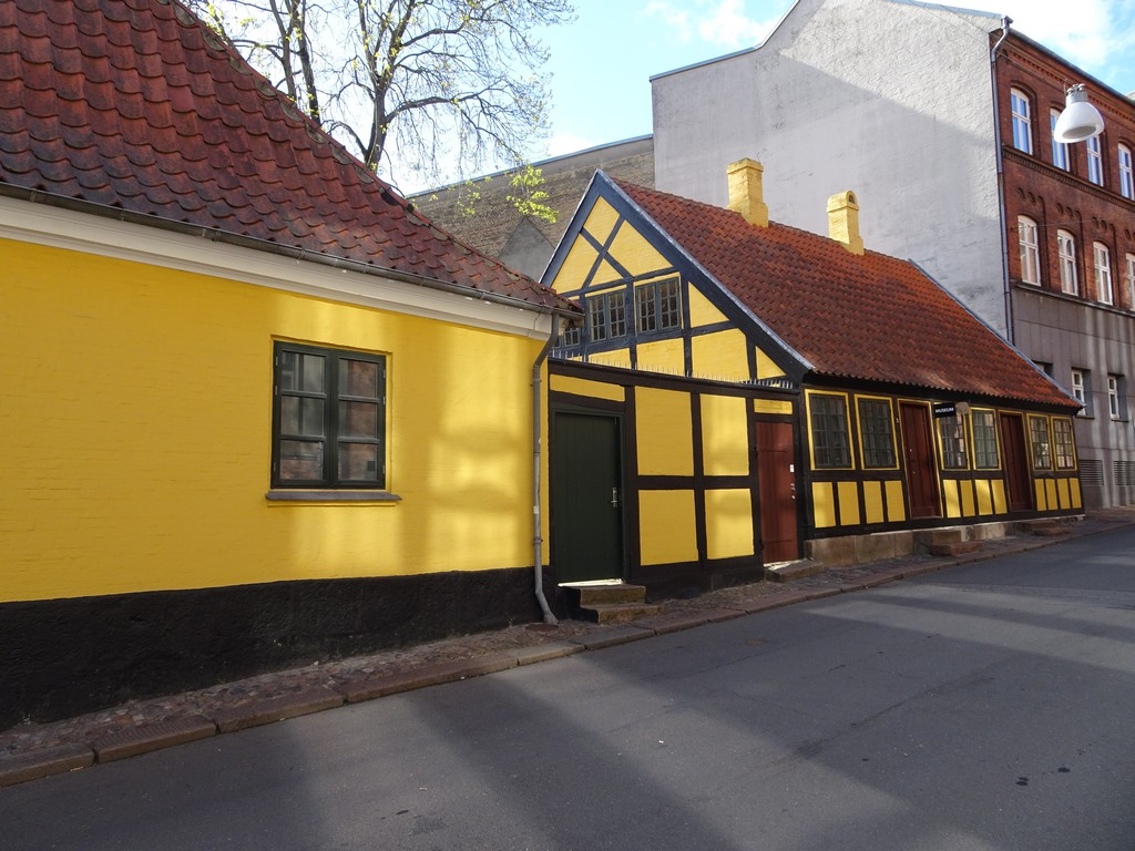 Оденсе , отчий дом Андерсена